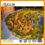 별장 모형 또는 프로젝트 건물 모형 또는 전람 모형