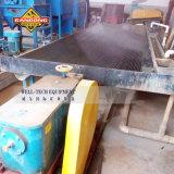 Rütteln des Tisches für Seifenerz-Goldschwenken-Gerät