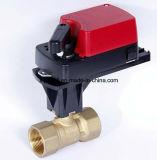 Vávula de bola eléctrica Proporcional-Integral con ISO/Ce 24VAC