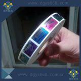 Autoadesivo olografico dell'ologramma di obbligazione variopinta su ordinazione di alta qualità in rullo