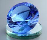 80mm 100mm Diamètre Crystal Diamond avec support de base miroir