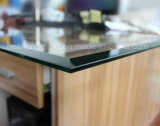 10mm Bevel Edge Clear Toughened Glass