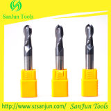 공 Nose End Mill 55HRC R6mm*100L Carbide End Mill