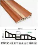 Les CK ont feuilleté le panneau de bordage de PVC de plancher décoré par Aluminum Strip