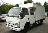 Горячее Isuzu 600p Double Row Van Truck