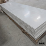 Superficie Artic del solido della pietra dell'acrilico di bianco 100%