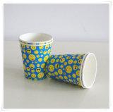 Устранимой & Eco-Friendly бумажные стаканчики партии напечатанные таможней