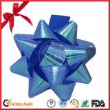 Оптовая продажа подгоняла декоративный смычок звезды подарка для празднества