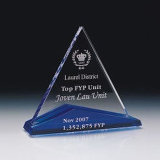 Laser Client Logo를 가진 높은 Quality Prismatic Crystal Award