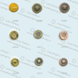 Кнопка металла латунной кнопки кнопки рубашки
