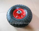Una rotella di gomma pneumatica da 10 pollici per il carrello dello strumento (4.10/3.50-4)