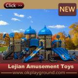 Campo da giuoco esterno dei bambini materiali di LLDPE per la sosta (X1505-10)