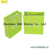 SGS (B&C-I037)를 가진 손잡이를 가진 고품질 물색 종이 봉지