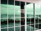 Het groene Weerspiegelende Glas van de Hitte (Zonne weerspiegelend glas)