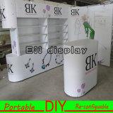 Compteur en aluminium portatif réutilisable modulaire de salon de bureau de réception