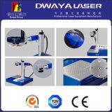 Máquina portable del marcador del laser de la fibra de la eficacia arriba exacta, alta mini