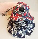 Chapéu novo da cubeta do estilo da flor do verão da forma