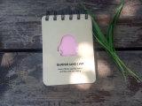 Cheapest fait sur commande Spiral Notepad avec Meurent-Cut Cover