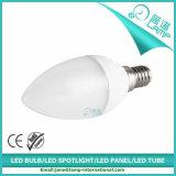 220V luz de la vela de la raya E14 5W LED
