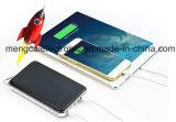 Haute qualité étanche à l'eau Dual USB Multi-fonction solaire et Li-Polymer rechargeable téléphone portable Power Bank