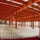 Hangar ligero estándar del edificio de la estructura de acero de la exportación