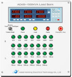 côté de chargement 5500kVA inductif résistif pour le test de générateur