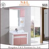 Module de salle de bains en plastique moderne européen de vanité de salle de toilette de PVC