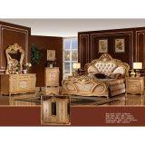 Antikes Bett für klassische Schlafzimmer-Möbel stellte ein (W811A)