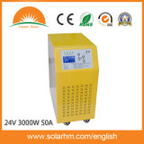 (X9-T30224-50) 24 inverseurs solaires de V 3000W d'écran LCD pur d'onde sinusoïdale