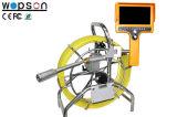 Câmera da inspeção do esgoto para inspecionar componentes da água de esgoto como drenos, câmara de visita
