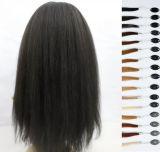 """28 """" 30 """" densité italienne de la perruque 180% d'Afro-américain de Yaki"""