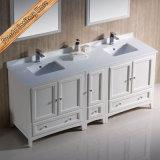 Moderner fester hölzerner Badezimmer-Schrank mit Wanne