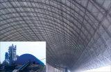 Silla plástica prefabricada del palmo grande con el edificio de marco de acero