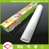 FDA Oven Calore-resistente Safe Greaseproof Silicone Baking Paper Rolls e Sheets