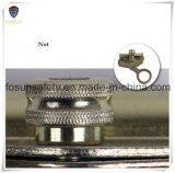 Gancho agarrador vendedor caliente de la cuerda del eslabón giratorio del metal del color del oro del laminado