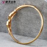 18k Gold Color Plated CZ Stone Elegant Bangle