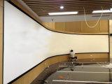 Grands écrans de projection de bâti fixe pour le système d'affichage multicanal