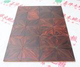 Kahuafloor450*450*15mmのチャーミングな寄木細工の床の木製のフロアーリング