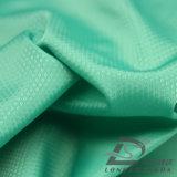 Agua y de la ropa de deportes tela punteada tejida chaqueta al aire libre Viento-Resistente 100% del poliester del filamento del telar jacquar abajo (53096)