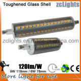 Hohes Lumen 6W 78mm LED R7s Light
