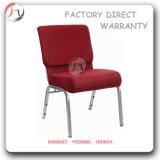 마호가니 금속 기초 유용한 연회 강당 의자 (JC-44)
