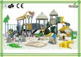 Динозавр и Thatched спортивная площадка коттеджа напольная серии трибы группы Kaiqi стародедовской для детей смешных и зрелищности