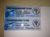 Escritura de la etiqueta adhesiva farmacéutica del frasco del holograma 10ml del precio barato de la alta calidad
