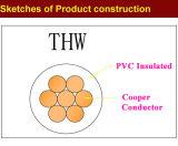 UL 600V Typ Thw PVC-isolierte Draht