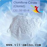 Clomifene 신진 대사 구연산염 Antiestrogen 처리되지 않는 스테로이드 Clomid 분말