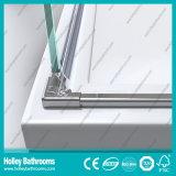Hinger Tür-doppelte Türen, die einfaches Dusche-Gehäuse (SE706c, verkaufen)