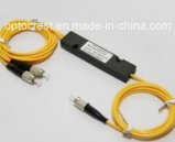 980/1310/1060/1480/1490/1550 de acoplador de Fbt da fibra óptica 1X2