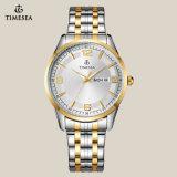 Toevallig Horloge voor Paar met 2-tonen Band 70022 van het Roestvrij staal