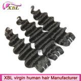 Cheveux de vente chauds de l'Asie de vente en gros d'armure de cheveux de Vierge