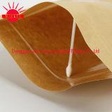 Levantarse la bolsa con la línea del rasgón de la cuenta del laser/el bolso del embalaje con el Ziplock con la ventana